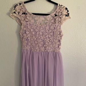 Lilac Purple Dress
